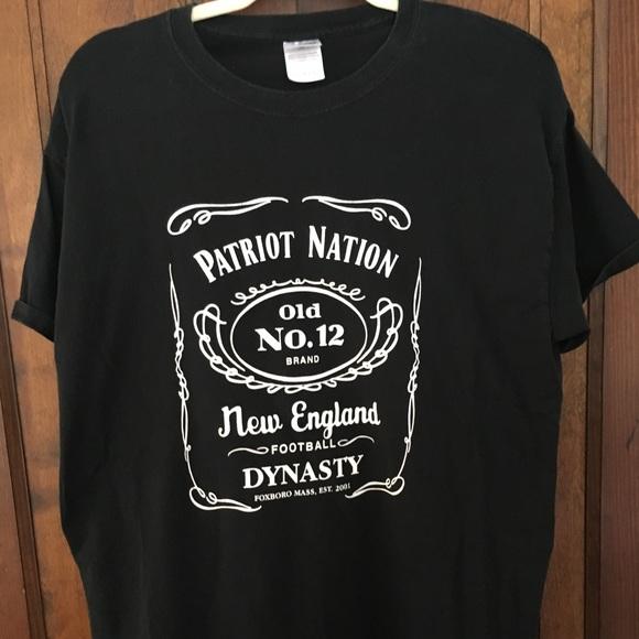 c2cb194ebe8 Patriots Jack Daniels dynasty tee. M 5b1c8207aa57194159170a69
